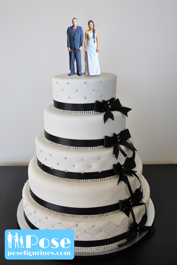 wedding cake toppers vancouver bc personalised wedding cake toppers pose figurines 26621
